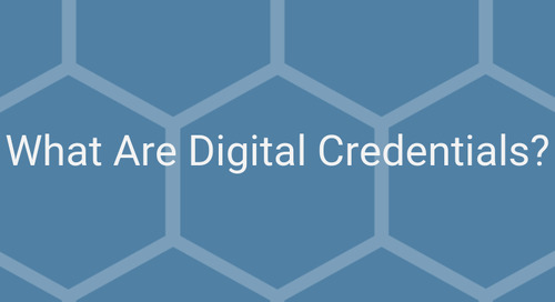 VIDEO: What Are Digital Credentials?