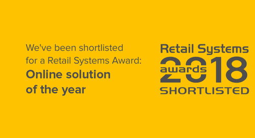 Retail Systems Awards 2018: Yieldify shortlisted!