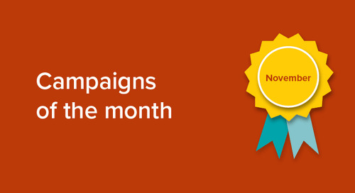 Our campaigns of the month: November 2018