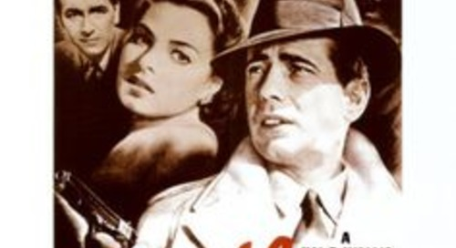 """Casablanca"" - there"