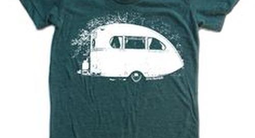 vintage camper tshir