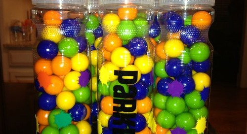 Paintball Party Favor Idea