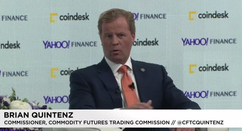 Regulate yourself, a top US official tells crypto companies