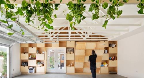 A Couple Convert Their Parents' Garage Into a Transforming ADU