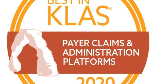 """Conduent Named """"Best in KLAS"""" for Payer Claims and Administration"""