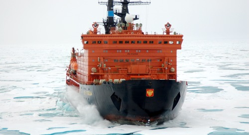 Wondering How to Get to the North Pole? Try a Nuclear Icebreaker