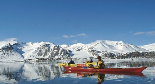 Sea Kayaking with Keith Perry in Greenland