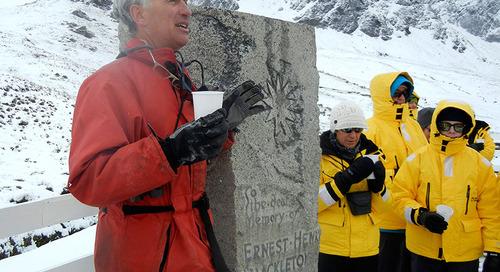 Antarctica bound: Books for the passionate polar buff