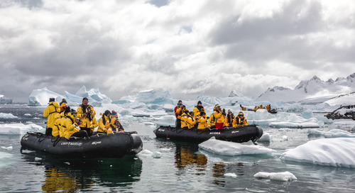 Take an Antarctic Zodiac Cruise in Immersive 360° Video
