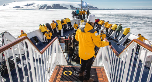 Quark Expeditions Launches 360° Virtual Reality Antarctic Experience