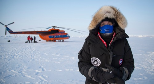 Quark Expeditions chooses Canada Goose for Barneo Ice Camp