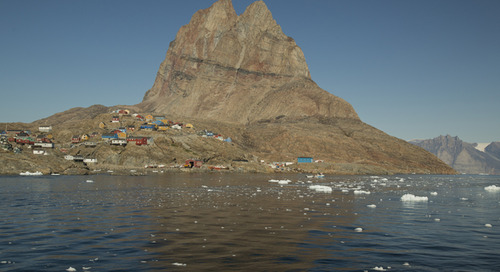 I left my heart in Uummannaq: Greenland with Acacia Johnson