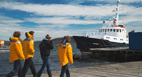 Life aboard the 'Hans Hansson' Small Exploration Boat