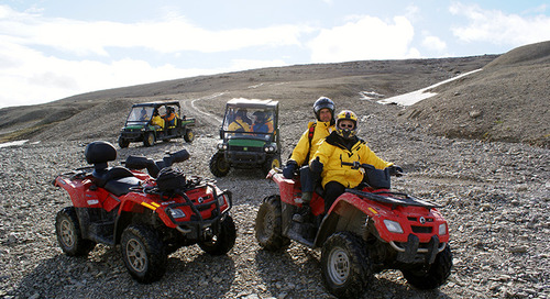 All About ATVs at Arctic Watch Wilderness Lodge