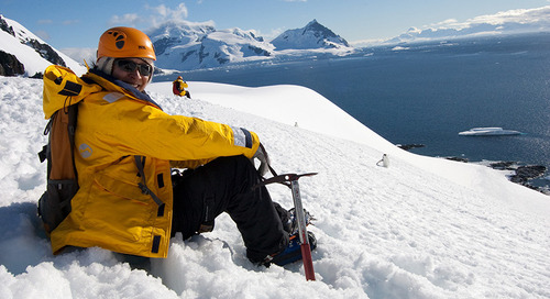 It's Worth the Climb: Antarctic Mountaineering with Guide Jean Cane