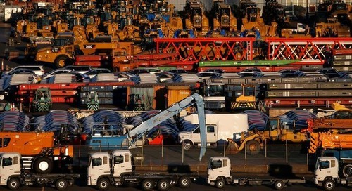 Japan ships fewer cars to U.S. as export growth slows