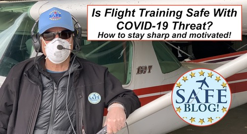 Managing COVID-19 Risk in Flight Training/Testing