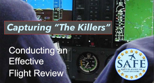 Better Flight Reviews; Get Focused!