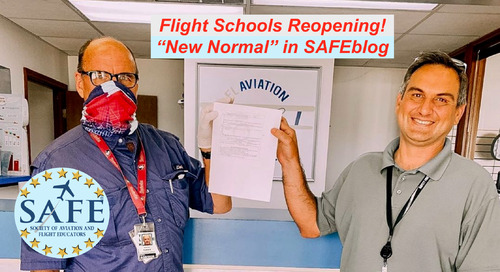 "COVID Precautions For Flight Schools – ""New Normal"""