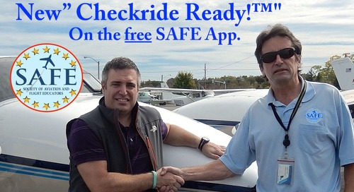 "New ""Checkride Ready!™"" On The SAFE App."