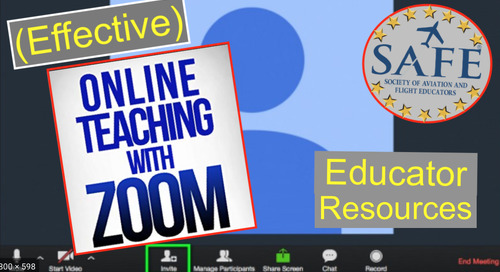 Teaching Effectively With Zoom!