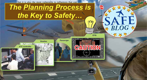"Planning (not ""Plans"") – Essential to Safety!"