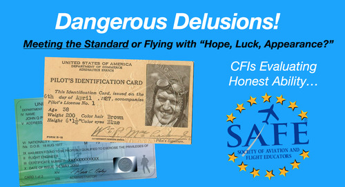 """Hope, Luck, Appearance"" – Dangerous Delusions!"