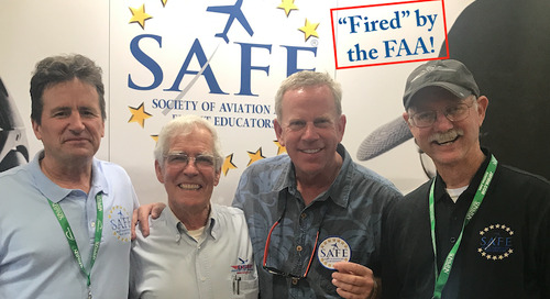 """""""Fired"""" By the FAA!"""