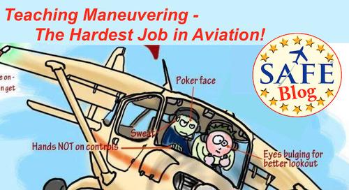Teaching Maneuvering – The Hardest Job in Aviation!