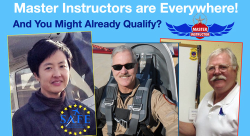 """How """"Masterful"""" is Your CFI? (Do *You* Qualify?)"""