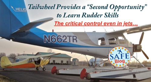 Opportunity Knocking – Learn Rudder!