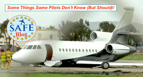 Some Things Some Pilots Don't Know (But Should)!