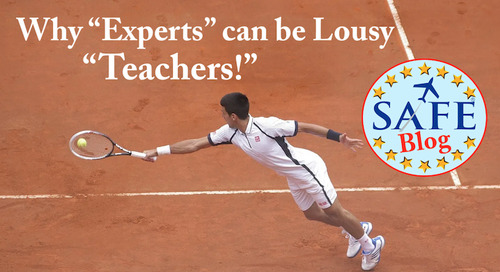 """Educator's """"Curse of Expertise!"""""""