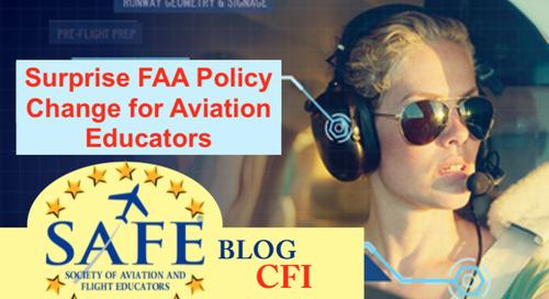 FAA Policy Reversal on CFI!