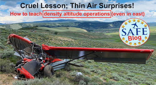 """Teaching """"Thin Air"""" Operations SAFEly!"""