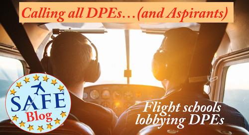 Flight Schools Lobbying DPEs