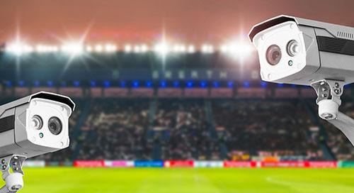 Video Surveillance Secures the World Cup