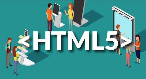 借助数字标牌和 HTML5 的全方位吸引力