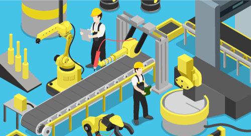 數位實驗證明智慧工廠解決方案