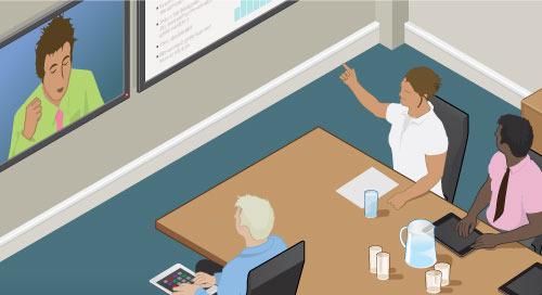 看看谁在说话:视频会议中的人工智能