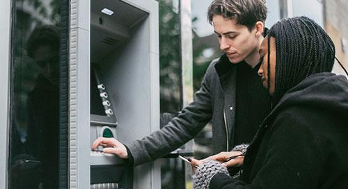 计算机视觉和人工智能保障自动柜员机业务