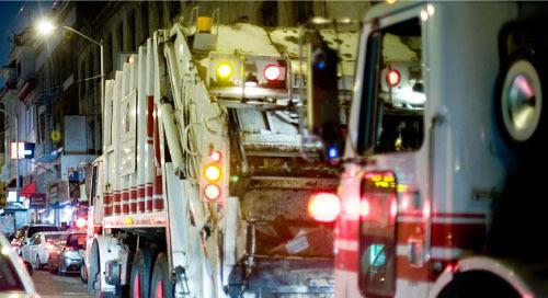 垃圾車如何使智慧城市更安全