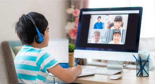 New Tech Upgrades Distance Learning