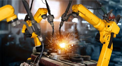 PDM 为智能工厂机器人的运转提供了保障
