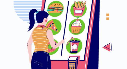 交談資訊站運用 AI 和 CV 接受點餐
