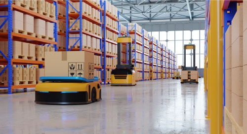 AI Robots Cut the Cord on the Warehouse Floor