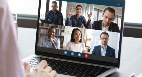 人工智能辅助视频会议进军虚拟会议领域