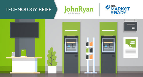 Interactive Digital Displays Transform Retail Banking