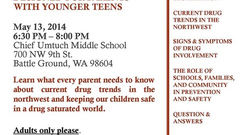 Middle School Drug Prevention Night
