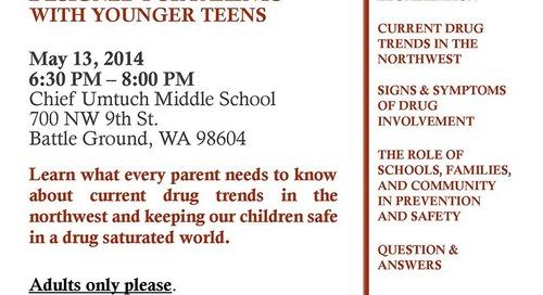 Middle School Drug Prevention Night
